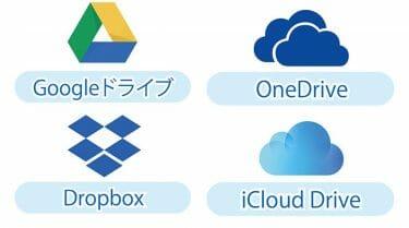 2020年版オススメ容量無制限クラウドは?Google Drive?Dropbox?OneDrive?iCloud?