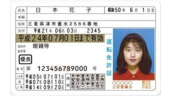 運転免許証が本物か偽物かを調べる方法